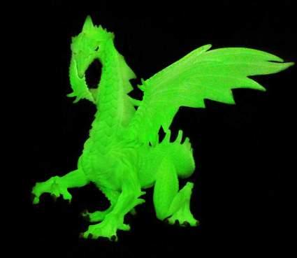 glow in the dark snow dragon