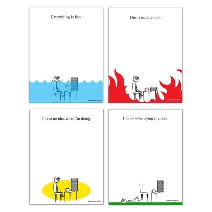Comic note pads