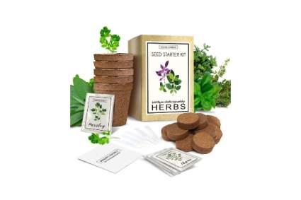 Herb Garden Starter Kit by Sower's Source