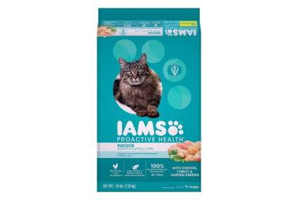 Iams ProActive Health Indoor Weight & Hairball Care best diet cat food