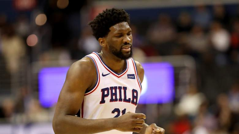 Joel Embiid injury 76ers roster starting lineup