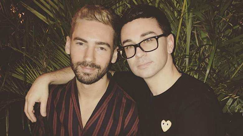 Christian Siriano with attractive, Boyfriend Kyle Smith
