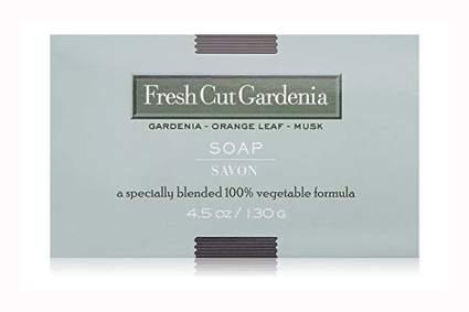gardenia orang lef olive oil soap