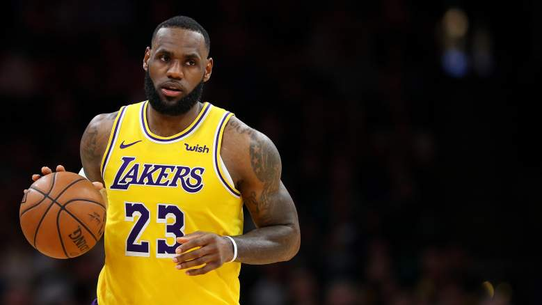 LeBron James Lakers playoffs
