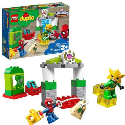 Lego Duplo Marvel Super Hero Adventures Spider Man vs Electro