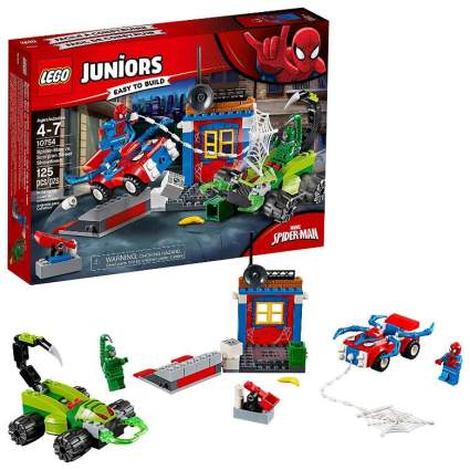 Lego Juniors Marvel Super Heroes Spider-Man vs. Scorpion Street Showdown
