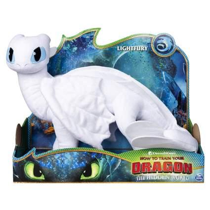 Lightfury dragon plush
