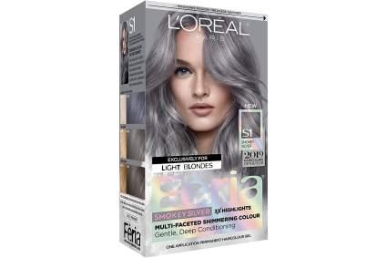 l'oreal paris hair dye box