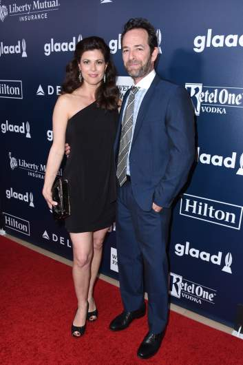 wendy bauer with luke perry