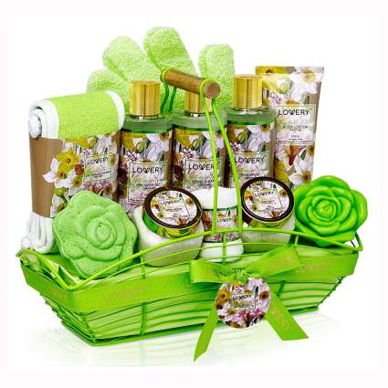 magnolia and jasmine bath gift set