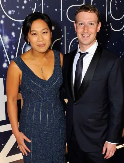 Mark Zuckerburg and wife Priscilla Chan