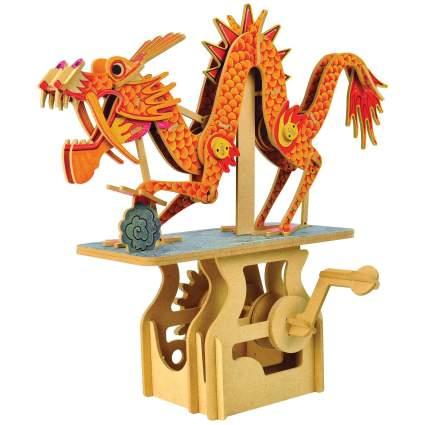 mechanical dragon puzzle
