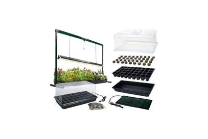 MegaGrow Indoor Seed Starter Plus with Grow Light System