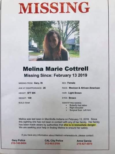 melina cottrell