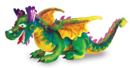 melissa and doug giant dragon plush