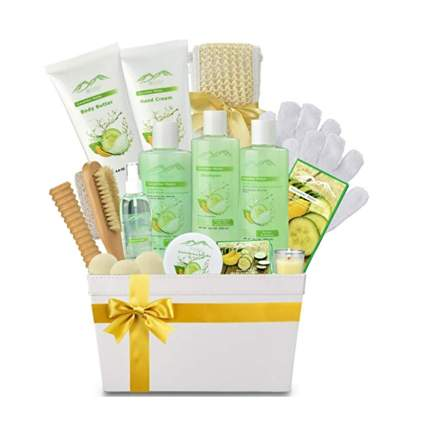 melon cucumber spa gift basket