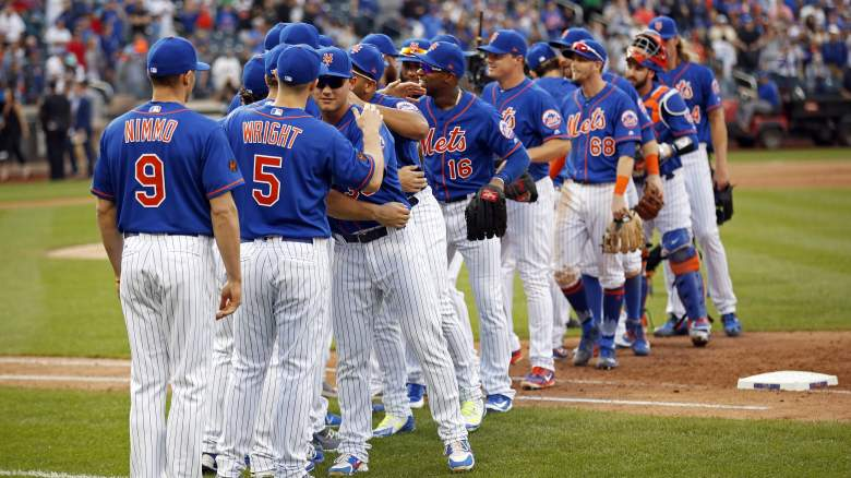 New York Mets Opening Day Lineup & Roster vs Nationals