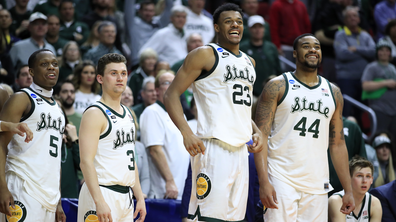 Braden Burke Michigan State Spartans Basketball Jersey - Green