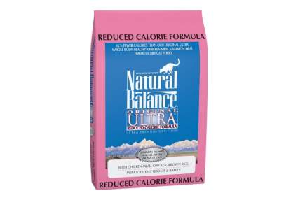 Natural Balance original ultra reduced calorie best diet cat food