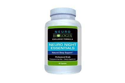 Neurobiologix Neuro Night Essentials Sleep Supplement sleep easy solution