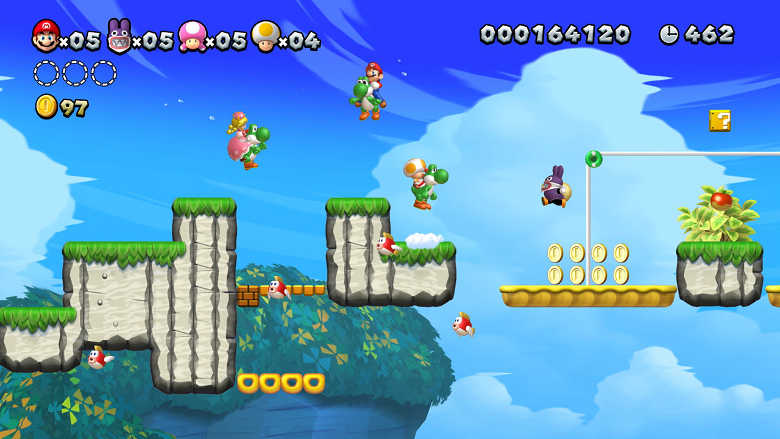 New Super Mario Bros. U Deluxe Best Nintendo Switch Games to play on the go