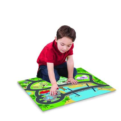 Paw Patrol Felt Playmat with Vehicle