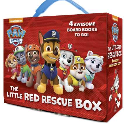 Paw Patrol The Little Red Rescue Box