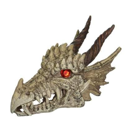 Penn Plax dragon skull bearded dragon tank decor