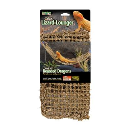 Penn Plax lizard lounger bearded dragon tank decor