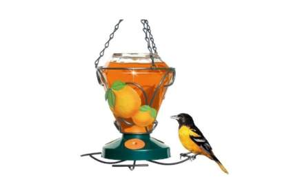 Perky-Pet Deluxe Hand Painted Oriole Feeder