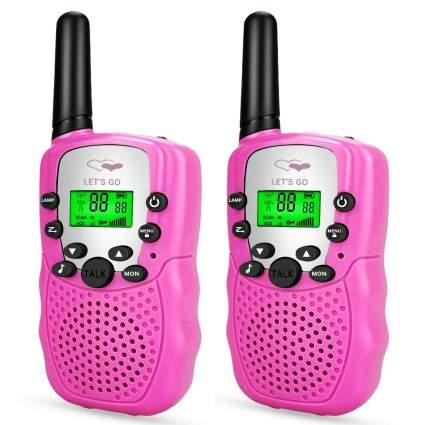 pink wallky talkies