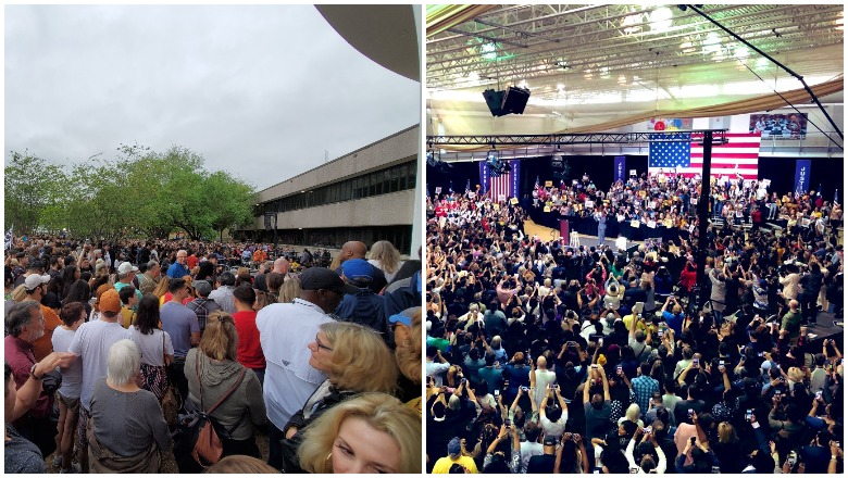 Beto vs Kamala in Houston