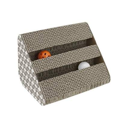 Play King activity center cat scratcher