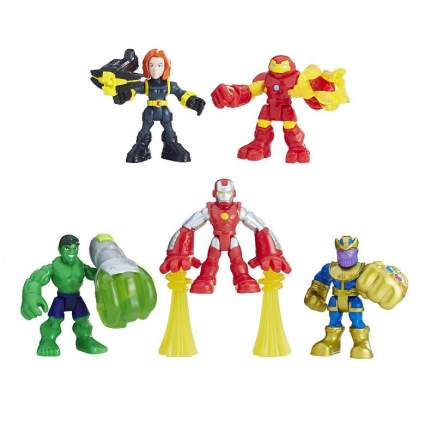 Playskool Heroes Marvel Super Hero Adventures The Power Up Squad