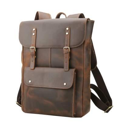Polare Vintage Full Grain Leather Rucksack