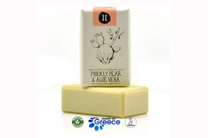 prickly pear and aloe olive oil soap