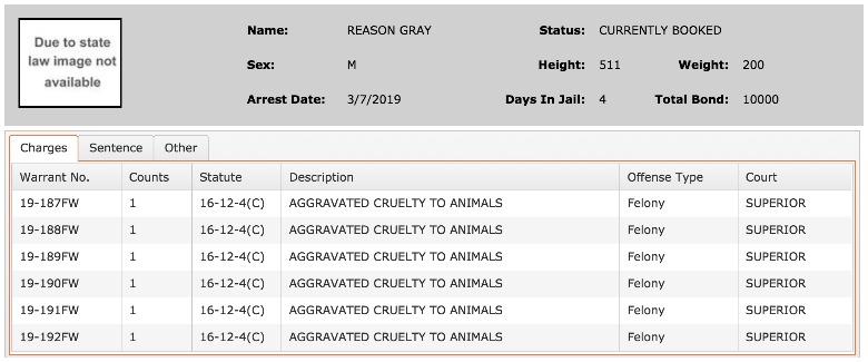 Reason Craig Gray