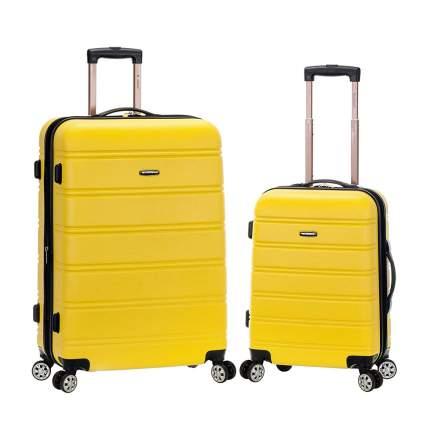 Yellow Rockland luggage