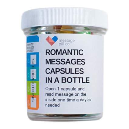 romantic message pills