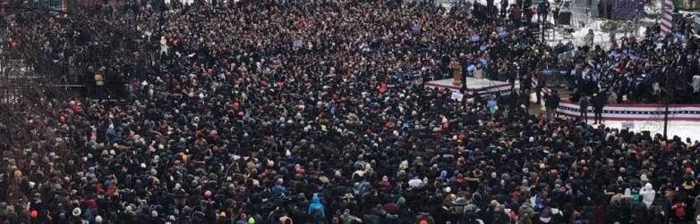 Bernie Crowd photo