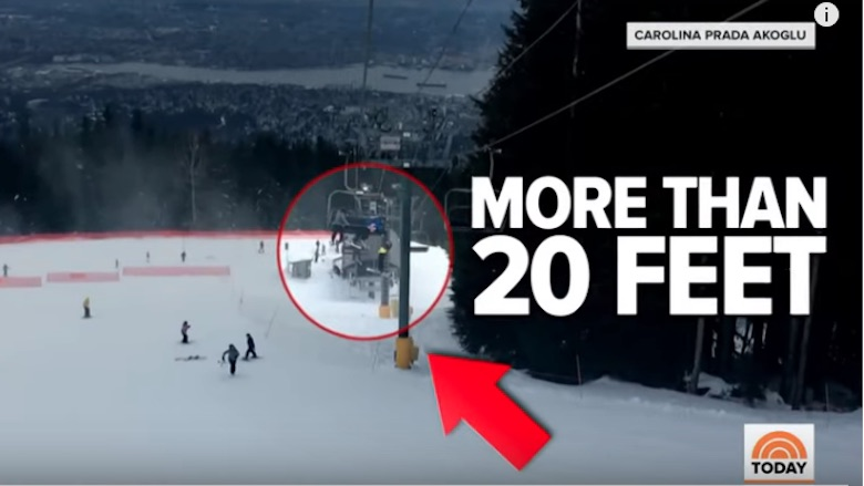 Teens Rescue Boy From Ski Lift