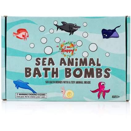 sea animal bath bombs