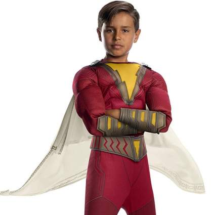 Shazam Boy's Fancy Dress Costume