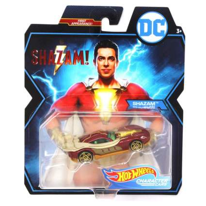 Shazam Hot Wheels Car