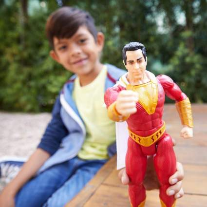 Shazam Thunder Punch Sound Figure