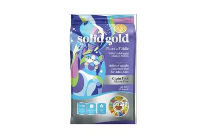 Solid Gold fit as a fiddle best diet cat food