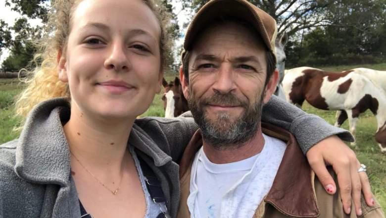 Luke Perry's daughter Sophie