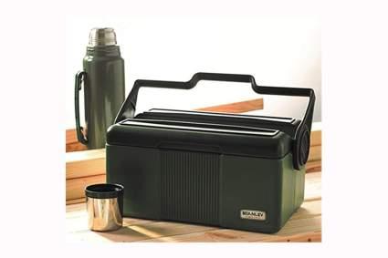7 quart lunch cooler with vacuum bottle