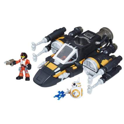 Star Wars Galactic Heroes Poe's Boosted X-Wing Fighter