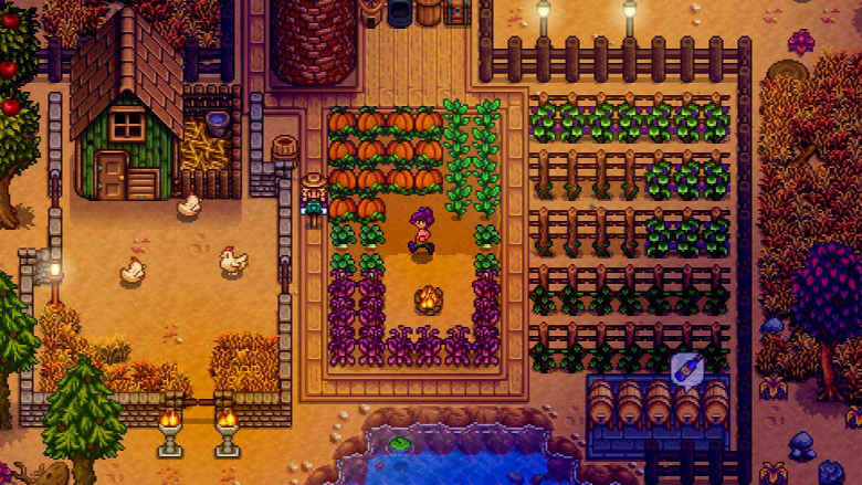 Stardew Valley Best Nintendo Switch Games to play on the go